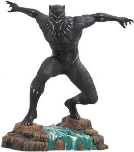 Figura Diamond de Black Panther en la cascada - Las mejores figuras Diamond de Black Panther- Figuras coleccionables de Black Panther - Pantera Negra