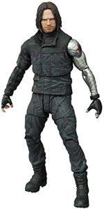Figura Diamond de Bucky Barnes - Las mejores figuras Diamond de The Winter Soldier - Figuras coleccionables del Soldado de Invierno