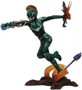Figura Diamond de Capitana Marvel Starforce en acción - Las mejores figuras Diamond de Capitana Marvel - Figuras coleccionables de Captain Marvel