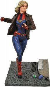 Figura Diamond de Capitana Marvel UCM con chaqueta Carol Danvers - Las mejores figuras Diamond de Capitana Marvel - Figuras coleccionables de Captain Marvel