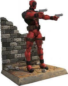Figura Diamond de Deadpool con pistolas - Las mejores figuras Diamond de Deadpool - Figuras coleccionables de Deadpool de los X-Men
