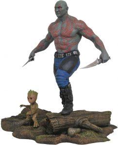 Figura Diamond de Drax y Mini Groot - Las mejores figuras Diamond de Drax de Guardianes de la Galaxia - Figuras coleccionables de Drax