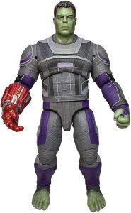 Figura Diamond de Hulk en End Game con guantelete - Las mejores figuras Diamond de Hulk - Figuras coleccionables de Hulk