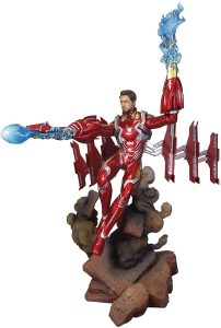 Figura Diamond de Iron Man en Infinity War - Las mejores figuras Diamond de Iron Man - Figuras coleccionables de Ironman