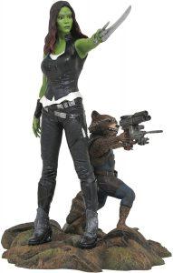 Figura Diamond de Rocket y Gamora - Las mejores figuras Diamond de Rocket Racoon de Guardianes de la Galaxia - Figuras coleccionables de Rocket Racoon