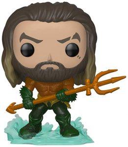 Figura Funko POP de Aquaman con traje de Héroe