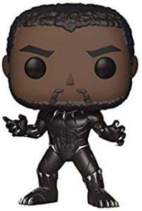 Figura Funko POP de Black Panther sin máscara
