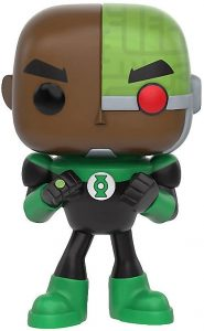 Figura Funko POP de Cyborg de Teen Titans