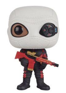 Figura Funko POP de Deadshot de Escuadrón Suicida con máscara