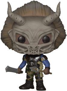 Figura Funko POP de Erik Killmonger con máscara