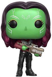 Figura Funko POP de Gamora con pistola de Guardianes de la Galaxia