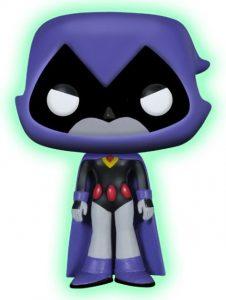 Figura Funko POP de Raven con capucha de oscuridad de Teen Titans Go