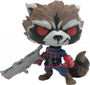 Figura Funko POP de Rocket Racoon clásico de Guardianes de la Galaxia