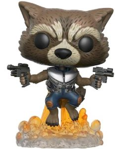 Figura Funko POP de Rocket Racoon de Guardianes de la Galaxia