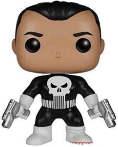 Figura Funko POP de The Punisher de Frank Castle con traje clásico