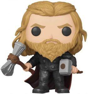 Figura Funko POP de Thor con el Mjölnir y Stormbreaker