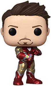 Figura Funko POP de Tony Stark en End Game