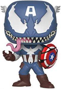 Figura Funko POP de Venom de Capitán América Venomized