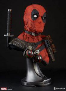 Figura Sideshow de Hot Toys de Busto de Deadpool - Los mejores Hot Toys de Deadpool - Figuras coleccionables de Deadpool