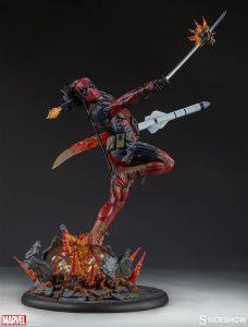 Figura Sideshow de Hot Toys de Deadpool 2 - Los mejores Hot Toys de Deadpool - Figuras coleccionables de Deadpool