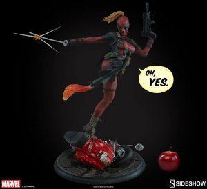Figura Sideshow de Hot Toys de Lady Deadpool - Los mejores Hot Toys de Deadpool - Figuras coleccionables de Deadpool