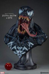 Figura Sideshow de Hot Toys de busto de Venom - Los mejores Hot Toys de Venom - Figuras coleccionables de Venom