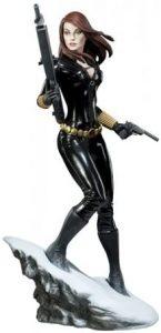 Figura Sideshow de Viuda Negra clásica - Los mejores Hot Toys de Black Widow - Figuras coleccionables de la Viuda Negra