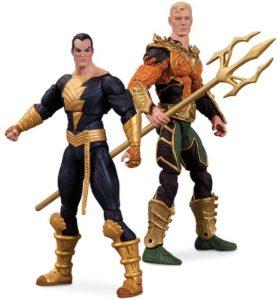 Figura de Black Adam y Aquaman de DC Collectibles - Figuras coleccionables de Black Adam