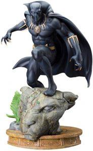 Figura de Black Panther clásico con capa de Kotobukiya - Figuras coleccionables de Black Panther - Pantera Negra