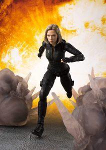 Figura de Black Widow de Bandai - Figuras coleccionables de Black Widow