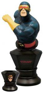 Figura de Busto de Cíclope de los X-Men de Kotobukiya - Figuras coleccionables de Cíclope