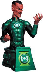 Figura de Busto de Sinestro - Figuras coleccionables de Sinestro