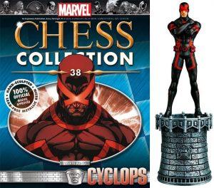 Figura de Cíclope de los X-Men de Eaglemoss - Figuras coleccionables de Cíclope
