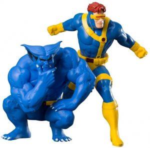 Figura de Cíclope y Bestia de los X-Men de Kotobukiya - Figuras coleccionables de Cíclope