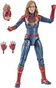 Figura de Capitana Marvel de Marvel Legends Series - Figuras coleccionables de Capitana Marvel - Captain Marvel
