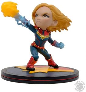 Figura de Capitana Marvel de Quantum Mechanix - Figuras coleccionables de Capitana Marvel - Captain Marvel