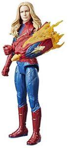 Figura de Captain Marvel con lanzador de Habro- Figuras coleccionables de Capitana Marvel - Captain Marvel
