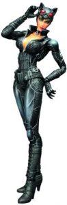 Figura de Catwoman Arkham City de Batman Play Arts - Figuras coleccionables de Catwoman