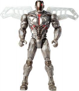 Figura de Cyborg Cannon de Mattel - Figuras coleccionables de Cyborg