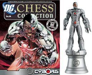 Figura de Cyborg de DC Comics Chess - Figuras coleccionables de Cyborg