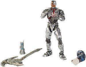 Figura de Cyborg de la Liga de la Justicia Mattel - Figuras coleccionables de Cyborg