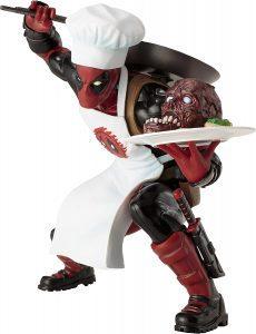 Figura de Deadpool cocinero de los X-Men de Kotobukiya - Figuras coleccionables de Deadpool