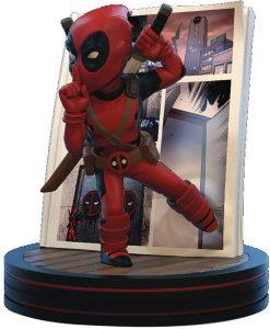 Figura de Deadpool de los X-Men de Quantum Mechanix - Figuras coleccionables de Deadpool