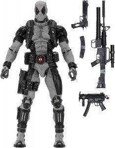 Figura de Deadpool de los X-Men de X Force de Marvel Legends - Figuras coleccionables de Deadpool
