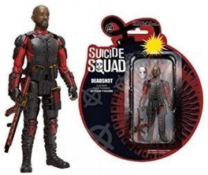 Figura de Deadshot de DC Action - Figuras coleccionables de Deadshot de Escuadrón Suicida de Batman