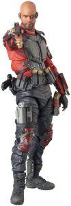 Figura de Deadshot de Medicom de Will Smith - Figuras coleccionables de Deadshot de Escuadrón Suicida de Batman