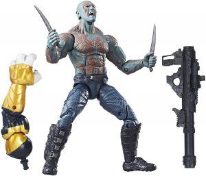 Figura de Drax de Guardianes de la galaxia de Hasbro - Figuras coleccionables de Drax