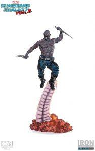 Figura de Drax de Guardianes de la galaxia de Iron Studios - Figuras coleccionables de Drax