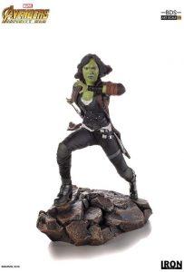 Figura de Gamora de Guardianes de la galaxia de Iron Studios - Figuras coleccionables de Gamora
