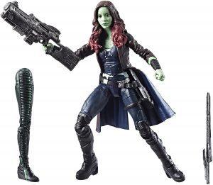 Figura de Gamora de Guardianes de la galaxia de Marvel Legends - Figuras coleccionables de Gamora